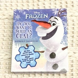Disney Frozen Olaf Craft Kit and Book NEW
